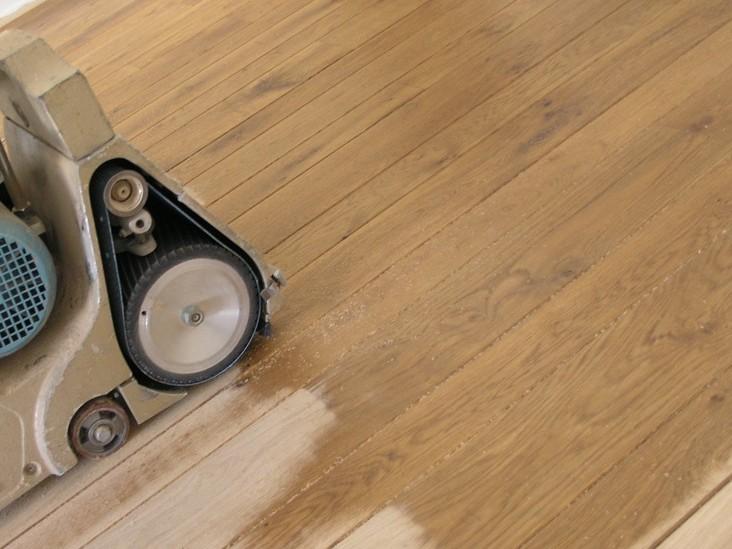 Houten vloeren reparatie de lier schildersbedrijf en